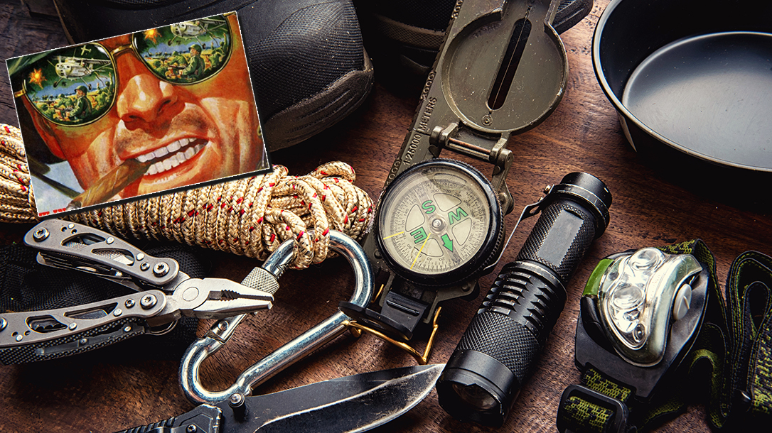 Survival tips with Sergeant Paine.