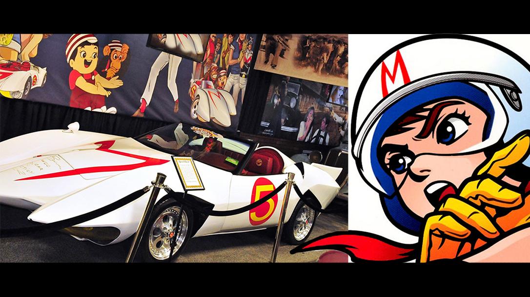 Speed Racer Mach 5 on display!