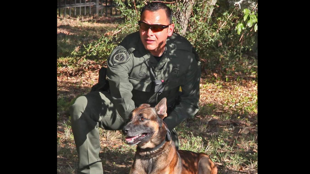 Deputy Canales and his K9