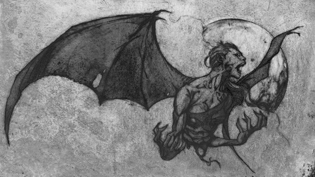 Terrifying drawing of an Aswang!